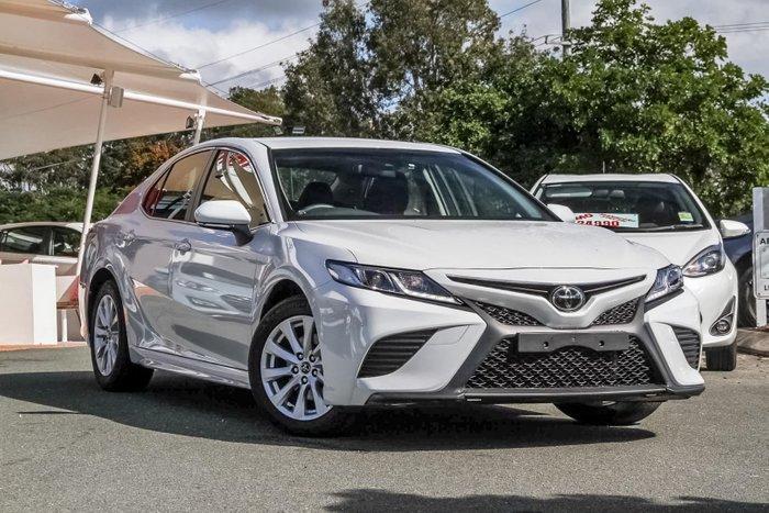 2018 Toyota Camry Ascent Sport ASV70R White