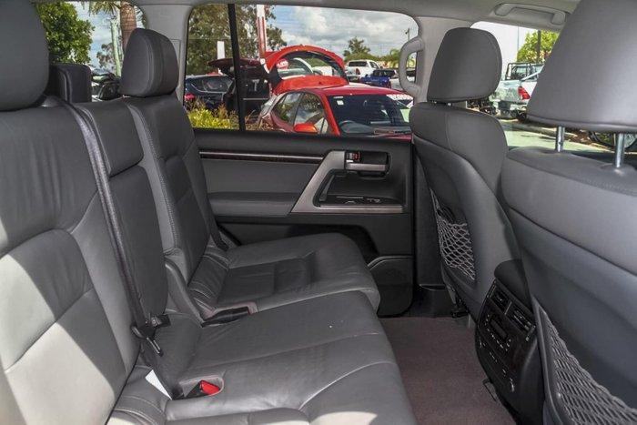 2011 Toyota Landcruiser Sahara VDJ200R MY10 4X4 Constant Silver