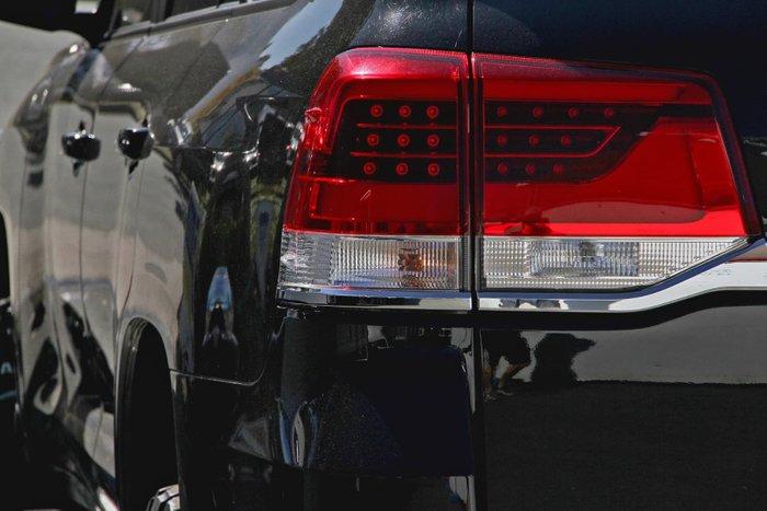 2016 Toyota Landcruiser GXL VDJ200R 4X4 Dual Range Black