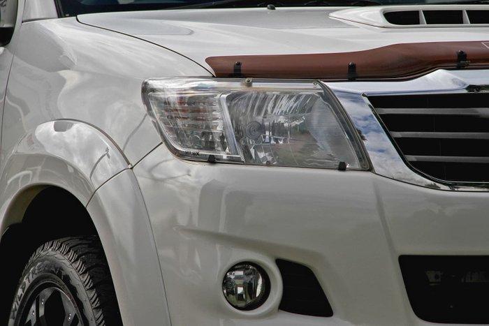 2015 Toyota Hilux SR5 KUN26R MY14 4X4 Dual Range White