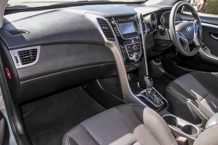 2013 Hyundai i30 Active GD Blue