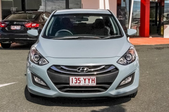 2013 Hyundai i30 Active GD Blue