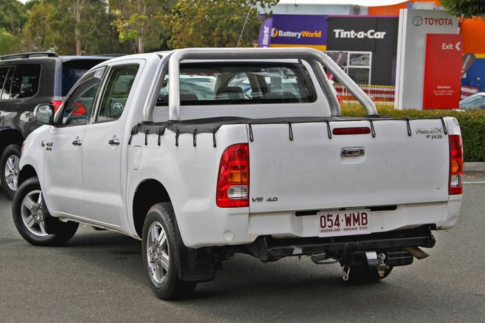 2007 Toyota Hilux SR5 GGN15R MY07 White