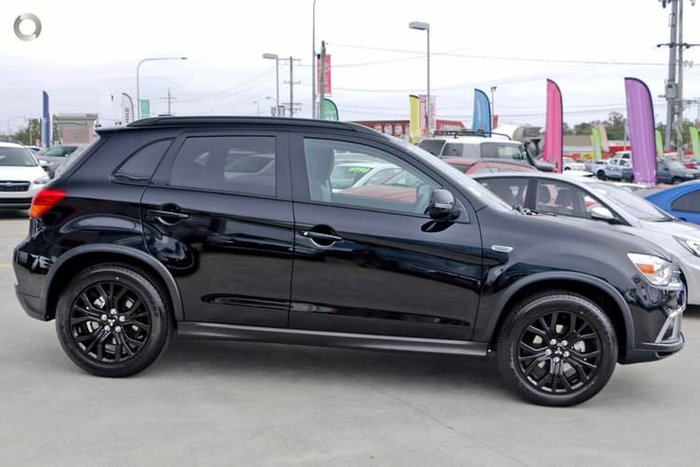 2019 Mitsubishi ASX Black Edition XC MY19 Black