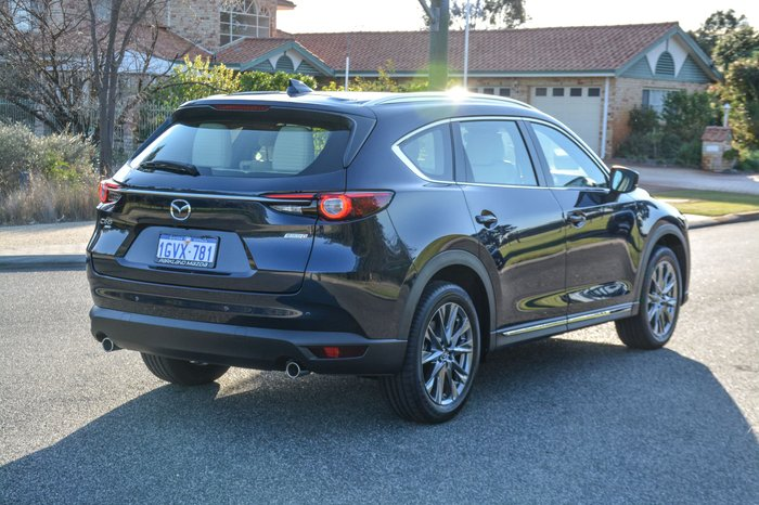 2019 Mazda CX-8 Asaki KG Series 4X4 On Demand Blue