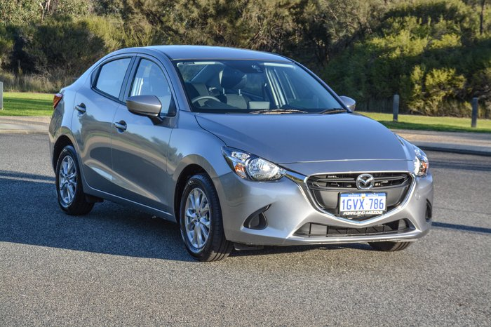 2019 Mazda 2 Maxx DL Series Silver