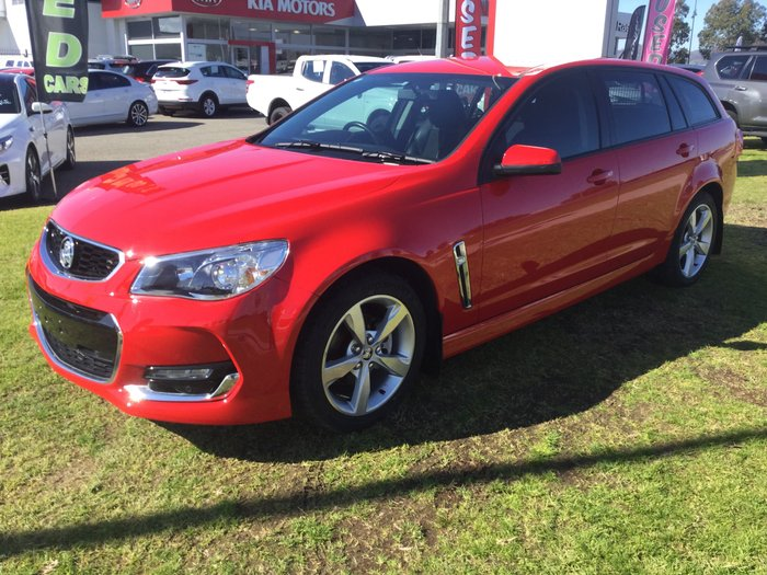 2016 Holden Commodore SV6 VF Series II MY16 Red