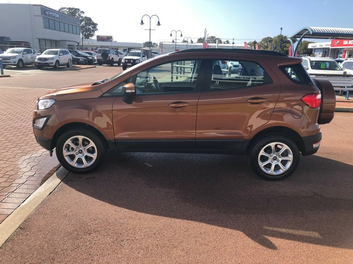 2018 Ford EcoSport Trend BL MY18 Orange