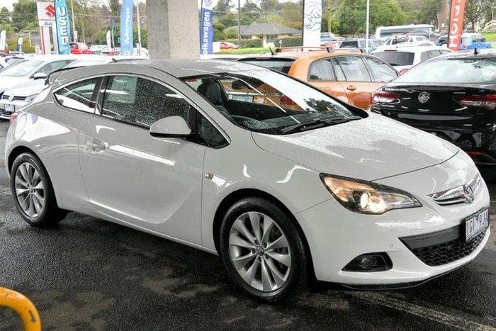 2015 Holden Astra GTC PJ MY15.5 White
