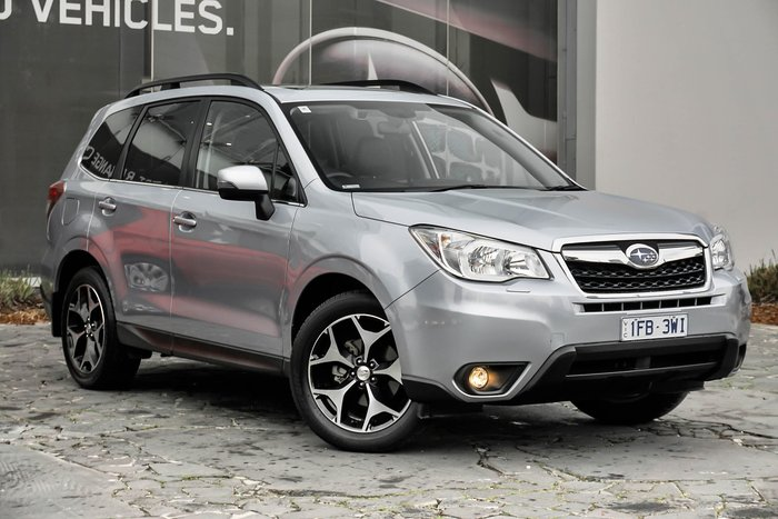 2015 Subaru Forester 2.5i-S S4 MY15 Four Wheel Drive Silver