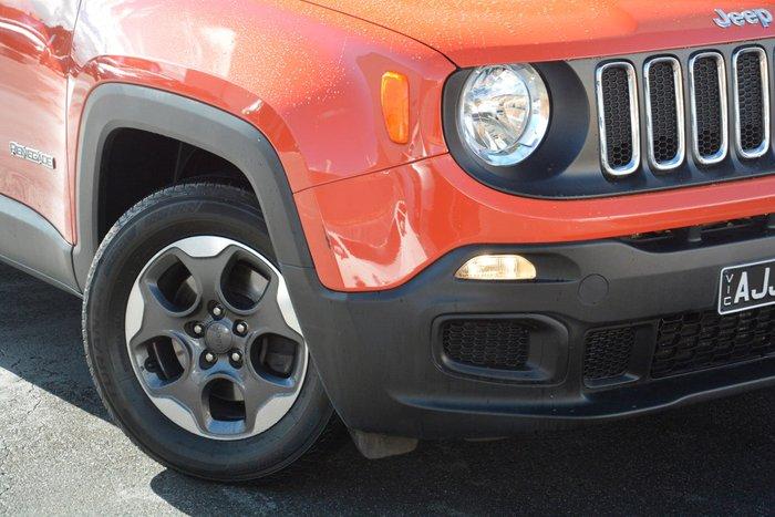 2016 Jeep Renegade Sport BU MY16 Orange
