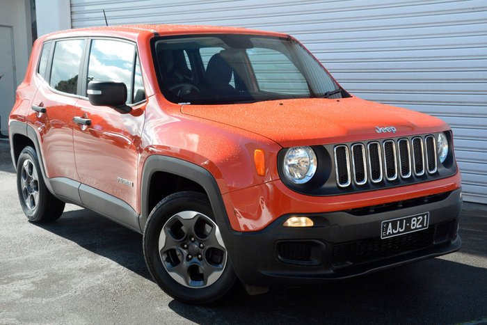 2016 Jeep Renegade Sport BU MY16 Orange