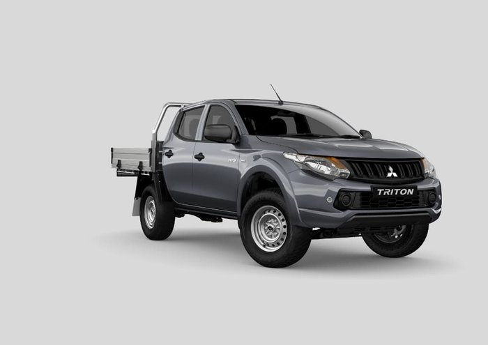 2017 Mitsubishi Triton GLX MQ MY18 4X4 Dual Range Grey