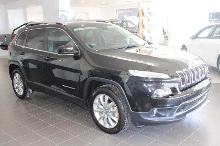 2014 Jeep Cherokee Limited KL MY15 4X4 On Demand Black