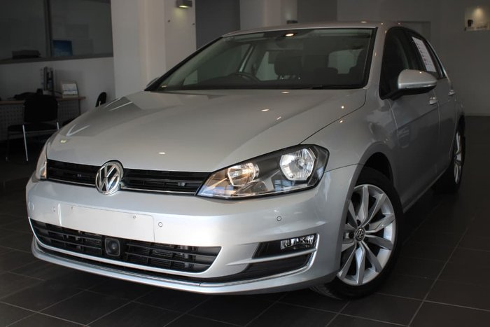 2013 Volkswagen Golf 103TSI Highline 7 Silver