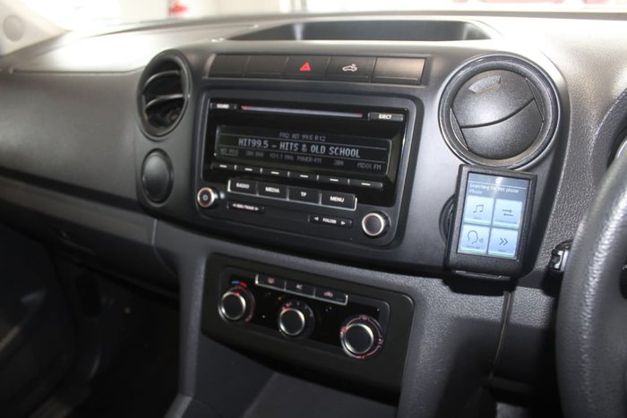2011 Volkswagen Amarok TDI400 Trendline 2H MY12 4X4 Dual Range Silver