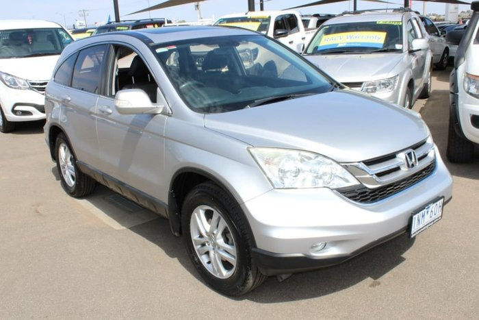 2010 Honda CR-V Luxury RE MY10 4X4 On Demand Silver