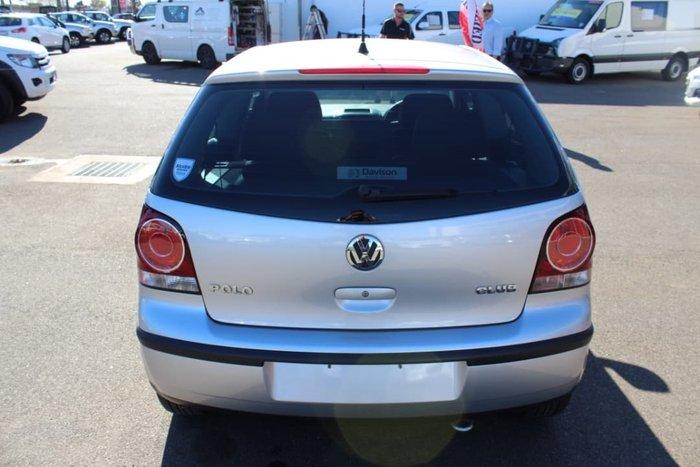 2008 Volkswagen Polo Club 9N MY08 SILVER