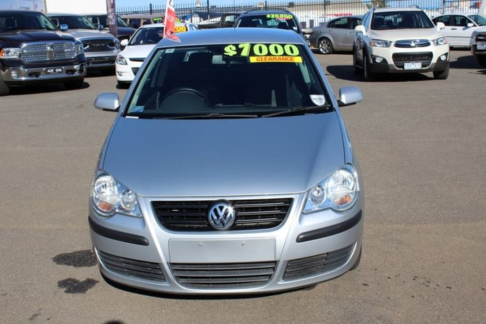 2008 Volkswagen Polo Club 9N MY08 SILVER