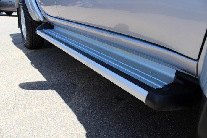 2014 Mitsubishi Triton GLX MN MY15 4X4 Dual Range Silver