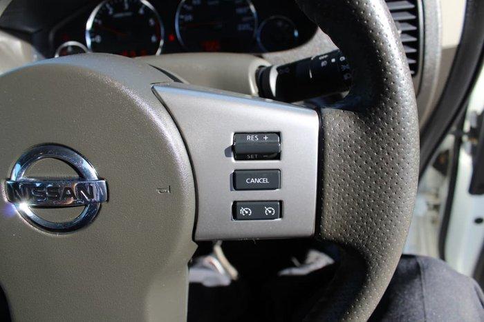 2012 Nissan Pathfinder ST-L R51 MY10 4X4 Dual Range White