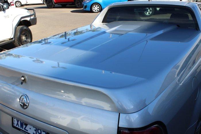 2010 Holden Ute SV6 VE MY10 Silver