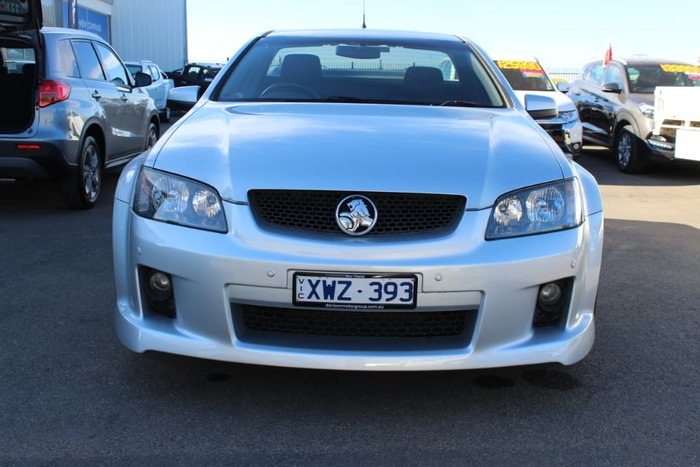 2010 Holden Ute SV6 VE MY10 Silver