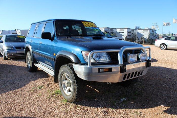 2000 Nissan Patrol ST GU II 4X4 Dual Range Blue