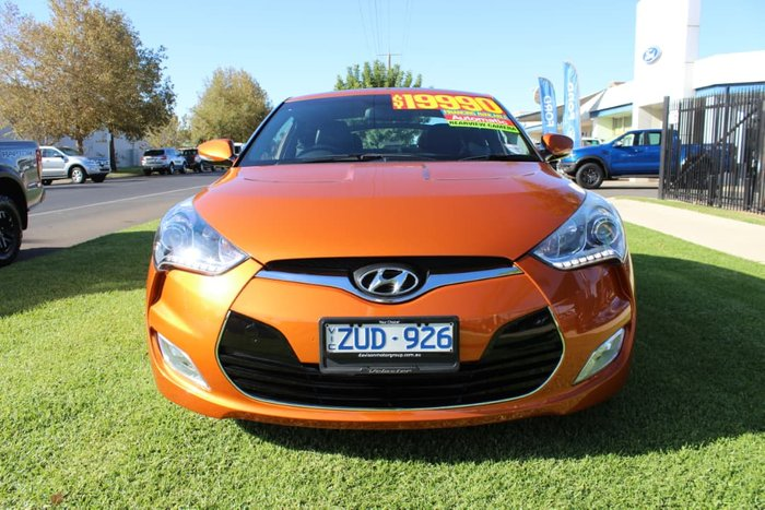 2013 Hyundai Veloster FS2 Orange