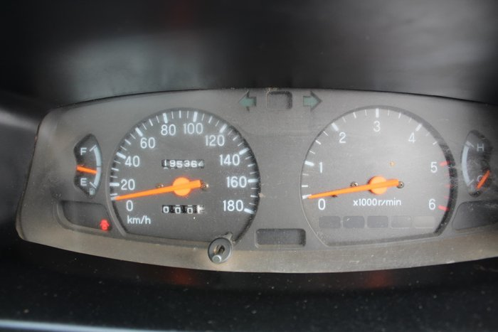 2003 Mitsubishi Triton GLX MK MY02 4X4 White