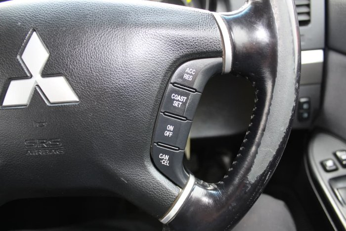 2008 Mitsubishi Pajero GLS NT MY09 4X4 Silver