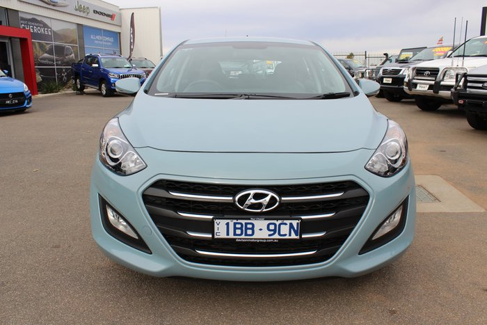 2015 Hyundai i30 Active X GD3 Series II MY16 Blue