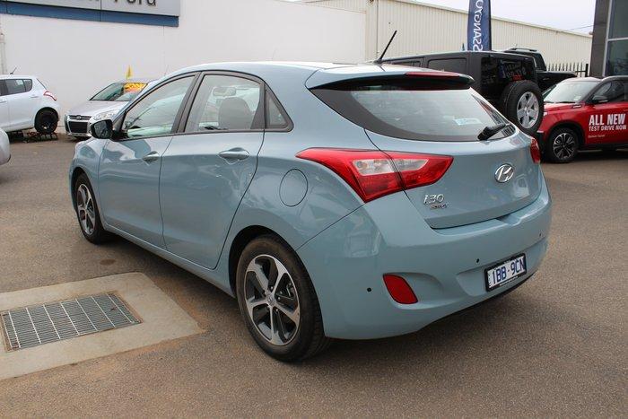 2015 Hyundai i30 Active X GD3 Series II MY16 Blue