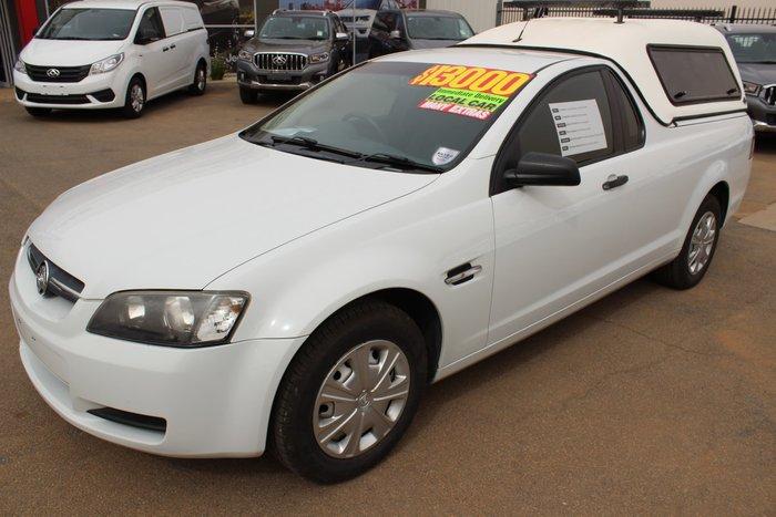 2010 Holden Ute Omega VE MY10 White