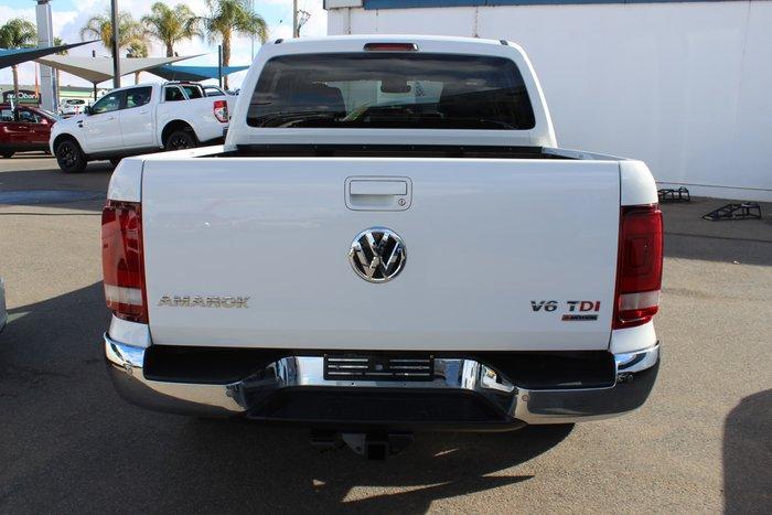 2017 Volkswagen Amarok TDI550 Highline 2H MY17 4X4 Constant White