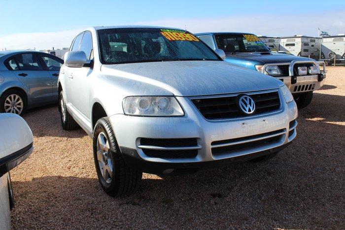2006 Volkswagen Touareg R5 TDI 7L MY07 4X4 Dual Range Silver