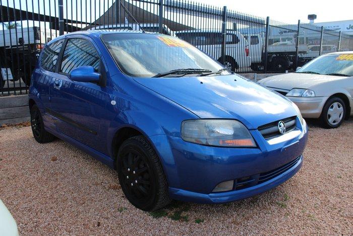 2007 Holden Barina TK MY07 Blue
