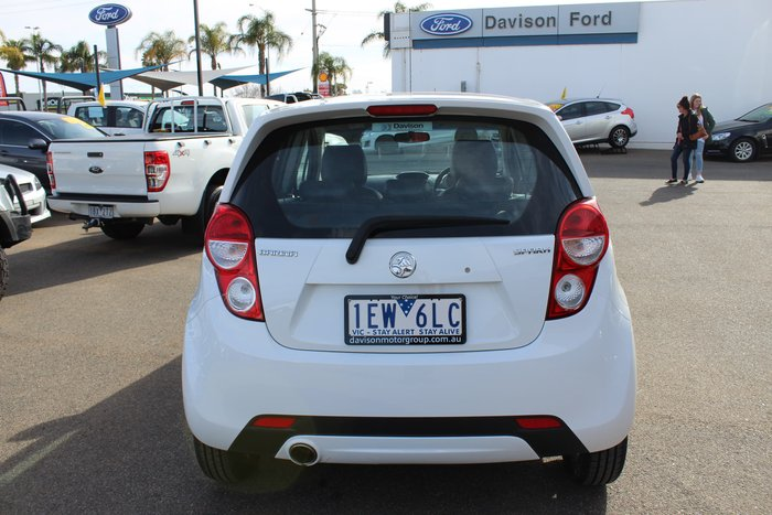 2014 Holden Barina Spark CD MJ MY15 White
