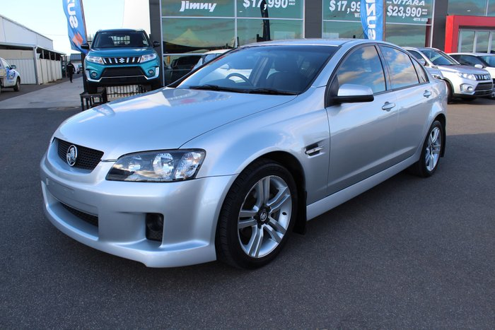 2009 Holden Commodore SV6 VE MY09.5 Silver