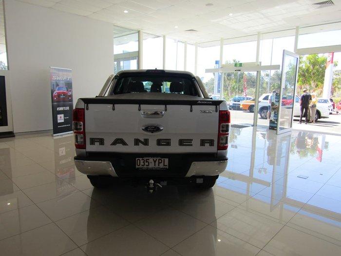 2019 Ford Ranger XLT PX MkIII MY19 4X4 Dual Range Ingot Silver