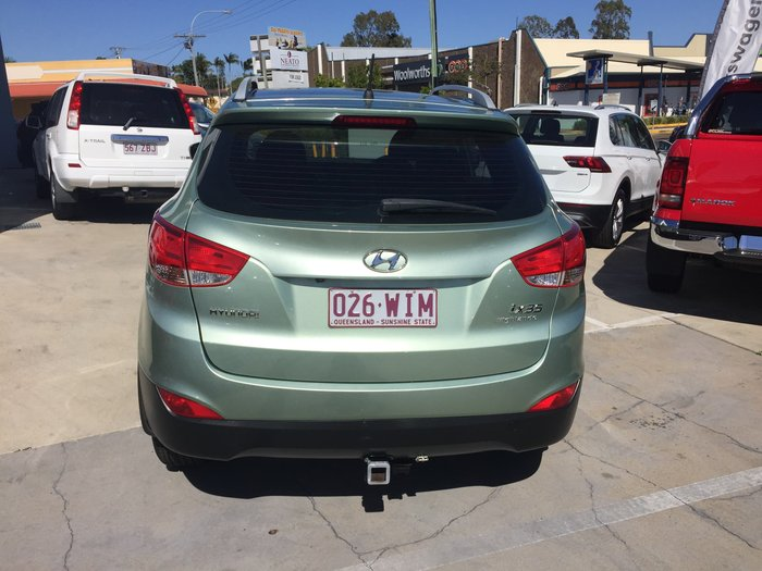 2010 Hyundai ix35 Highlander LM Four Wheel Drive Green