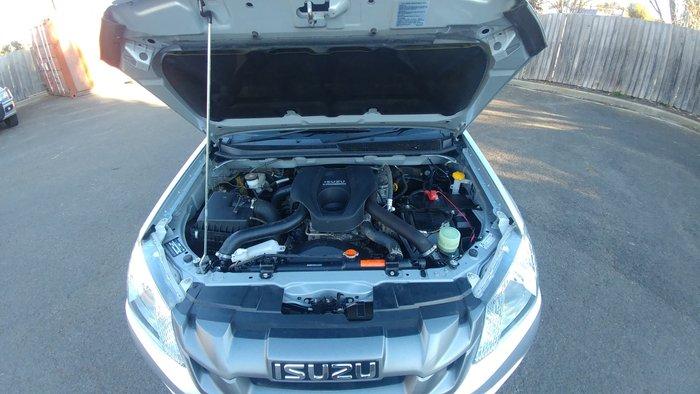 2014 Isuzu D-MAX SX MY14 4X4 Dual Range Silver