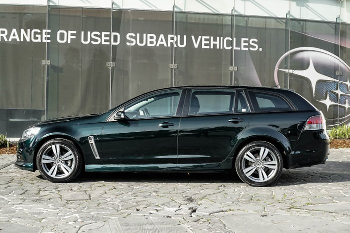 2014 Holden Commodore SV6 VF MY14 Green