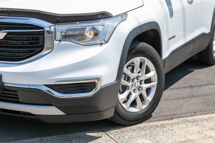 2018 Holden Acadia LT AC MY19 4X4 On Demand White