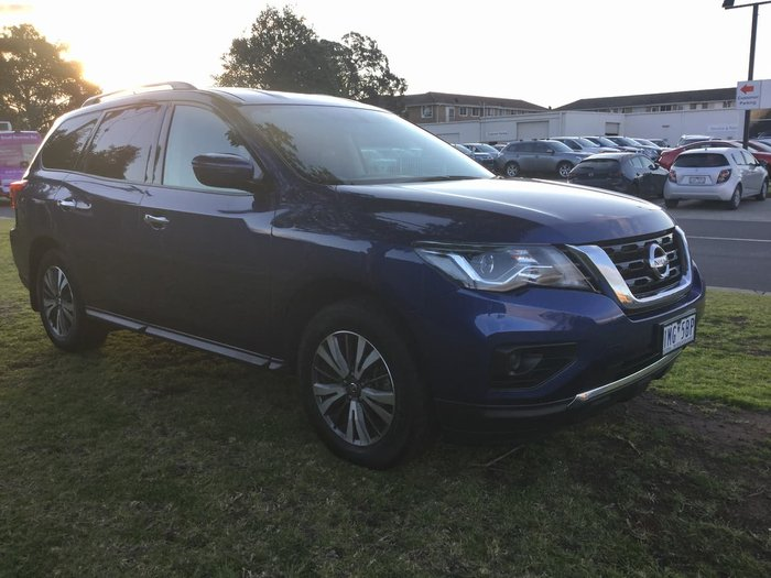 2018 Nissan Pathfinder ST R52 Series III MY19 Blue