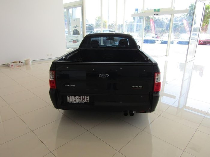 2011 Ford Falcon Ute XR6 Turbo FG Black