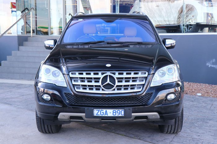 2009 Mercedes-Benz ML350 Luxury W164 MY09 4X4 Constant Black