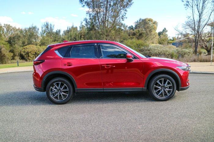 2017 Mazda CX-5 Akera KF Series 4X4 On Demand Red