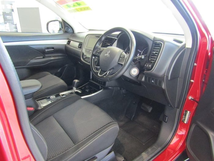 2017 Mitsubishi Outlander LS Safety Pack ZK MY17 4X4 On Demand Red