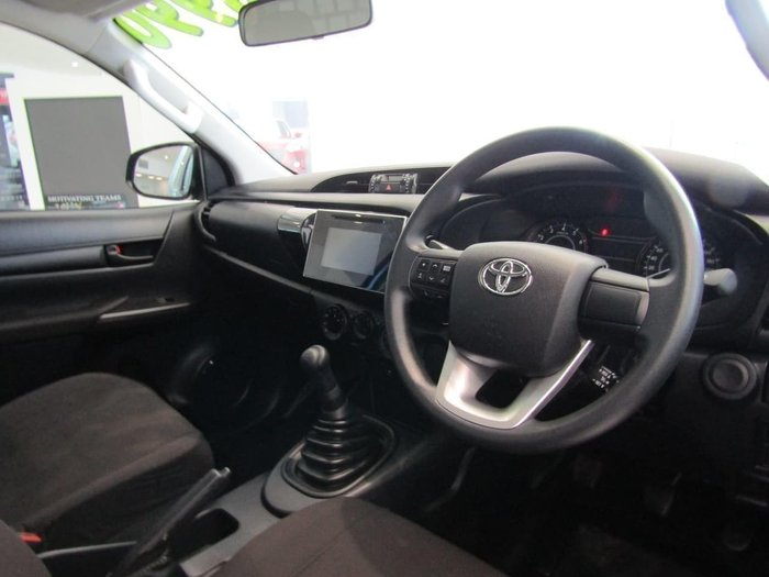 2018 Toyota Hilux Workmate TGN121R Blue